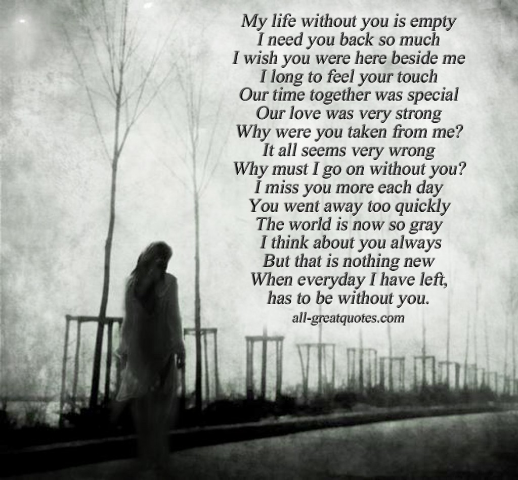 Quotes about An empty feeling (55 quotes)