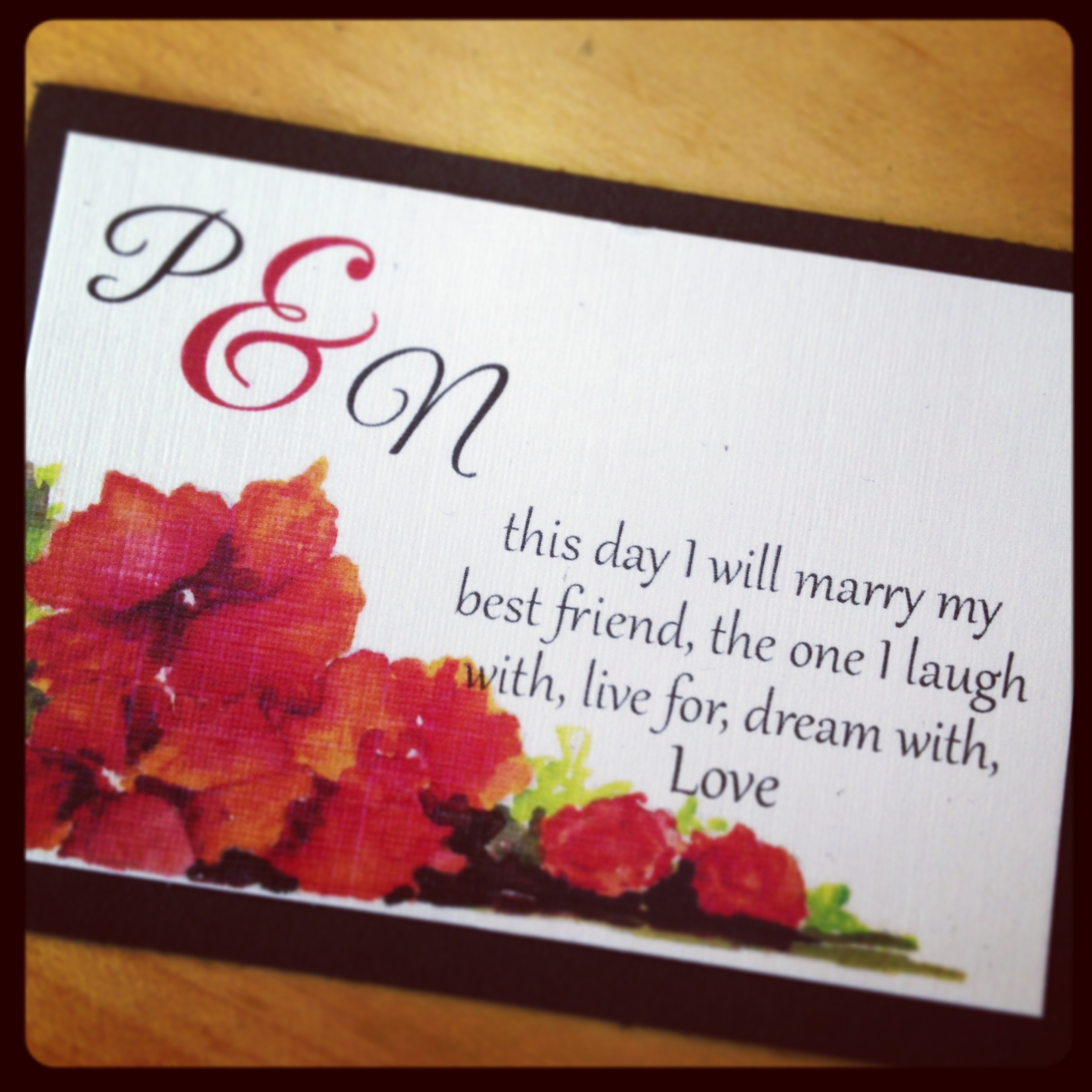 Modern Wedding Quotes For Invitation Ensign - Invitations and ...
