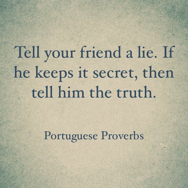 Quotes About Telling Friends Secrets (21 Quotes