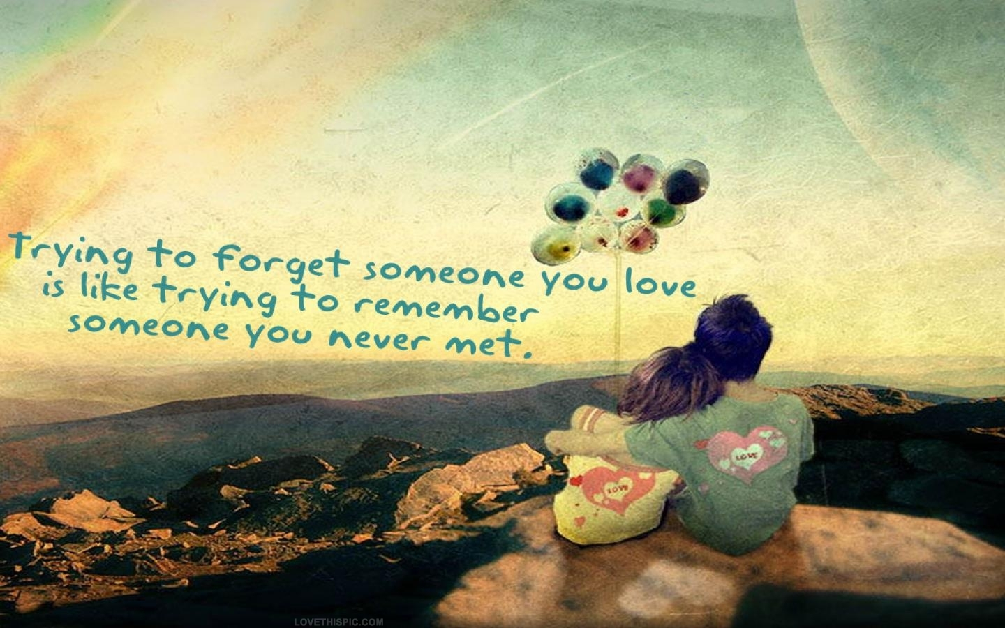 How you forget someone love