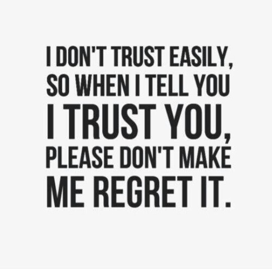 Quotes about Trust issues (77 quotes)