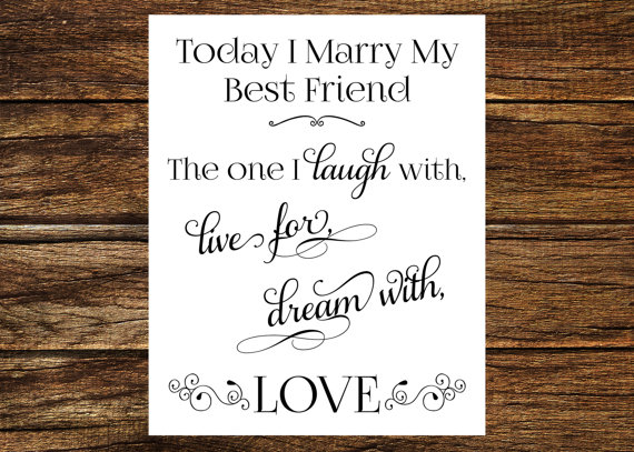 Quotes about Marriage to best friend (27 quotes)
