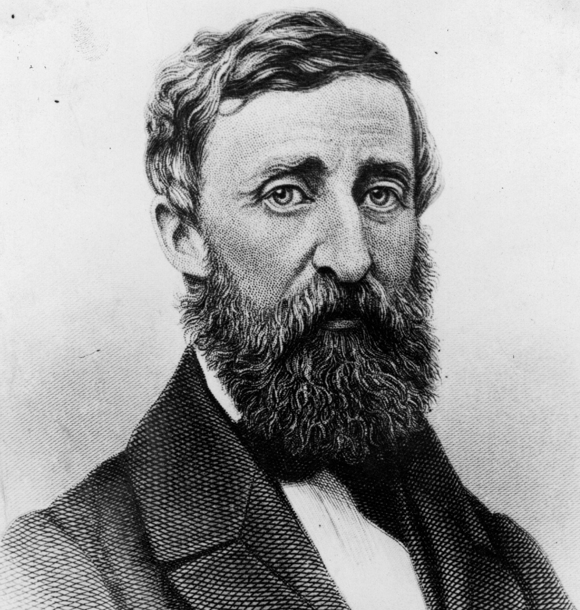 a biography of henry david thoreau an american author