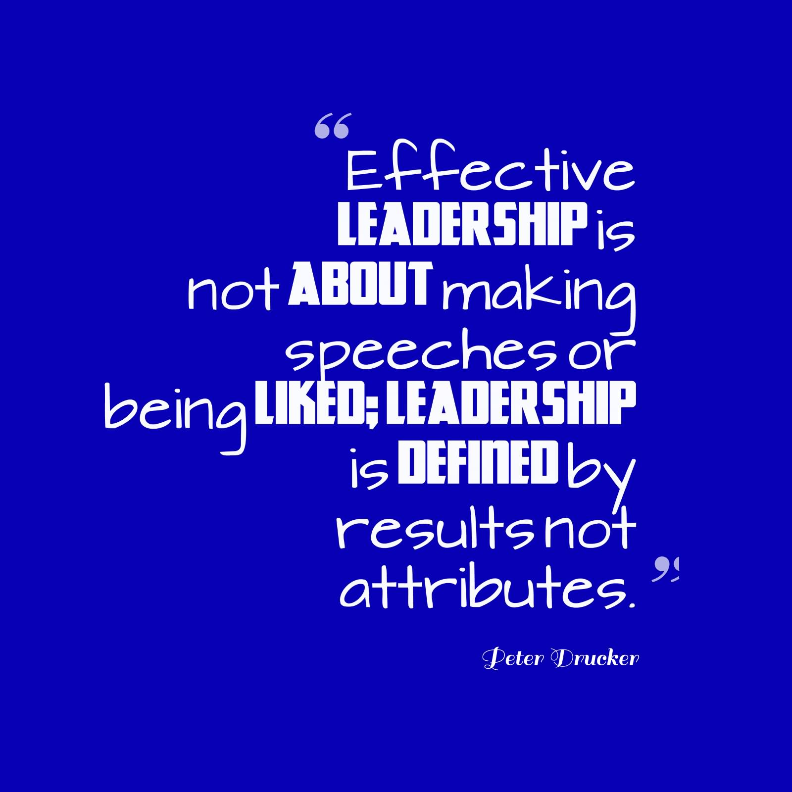 Quotes about Everyone being a leader (17 quotes)