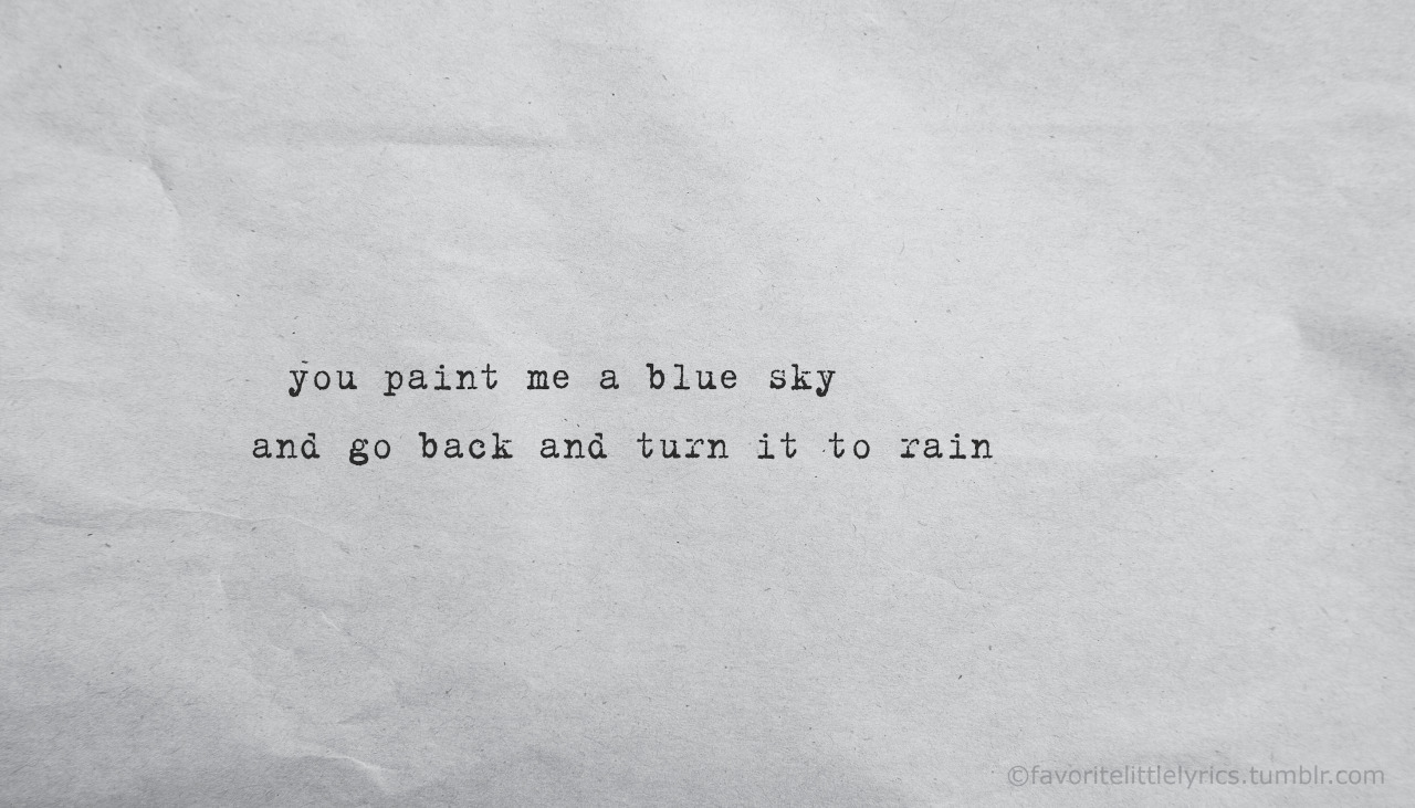 quotes about painting the sky quotes