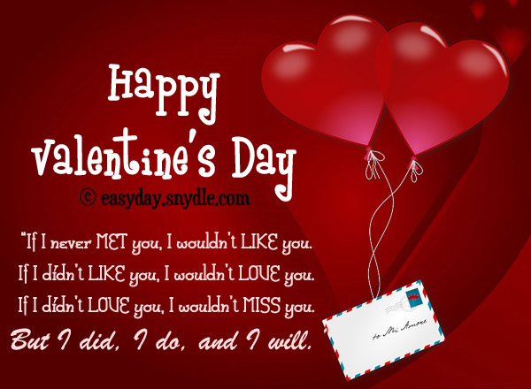Quotes About Valentines Day For Boyfriend 16 Quotes