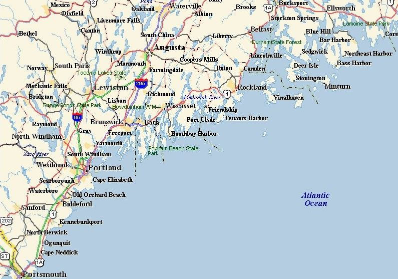 map of southern maine coast Quotes About Coast Of Maine 23 Quotes map of southern maine coast