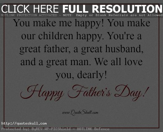 httpquoteskullcomfestivalsfathers dayfathers day quotes for husband messages wishes from wife