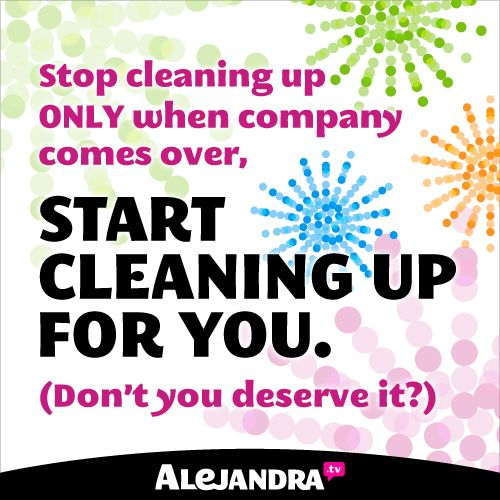 Quotes about Clean House (90 quotes)