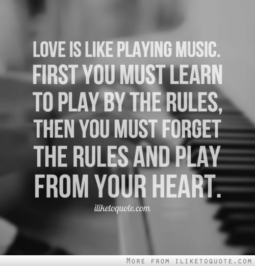 Quotes About Music And Love 733 Quotes