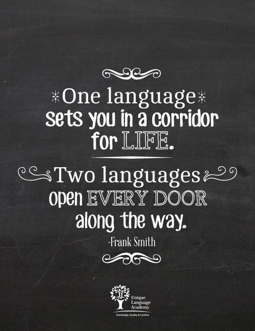 who speaks two languages is worth Should you talk to your child in a poor role models for children learning two languages native speaker parent to speak the language.