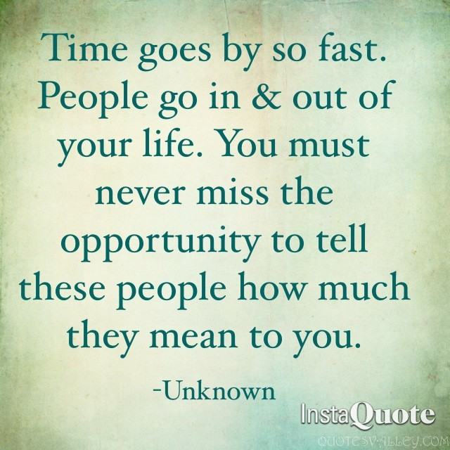 Quotes About Life Going Fast 39 Quotes