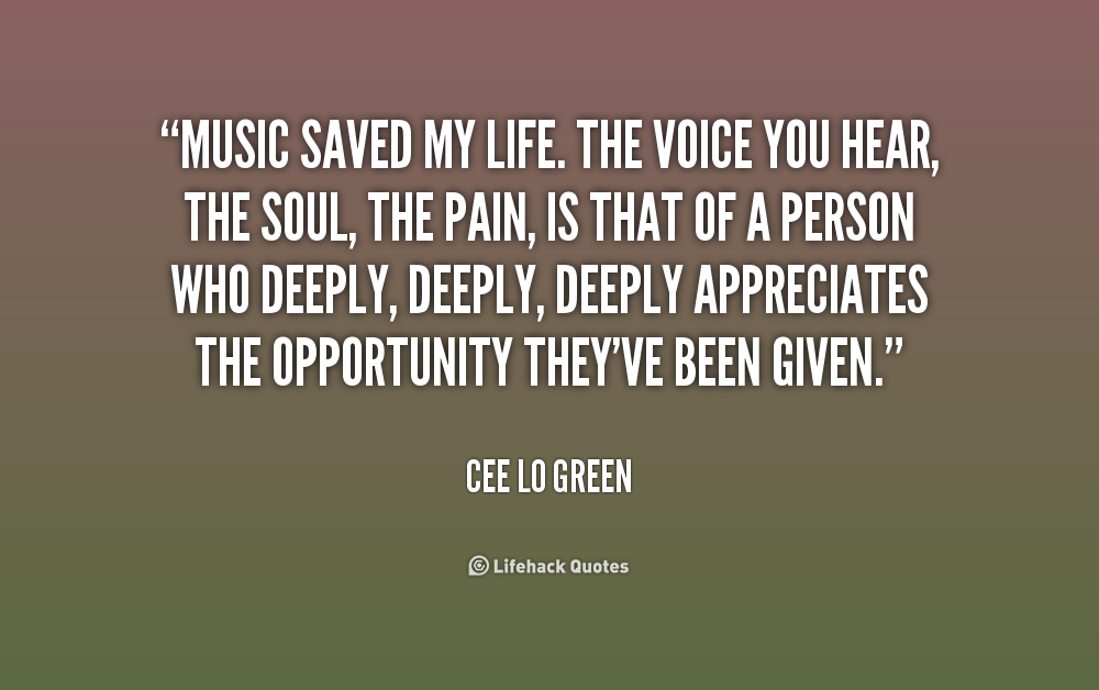 Quotes About Music Saving You 22 Quotes