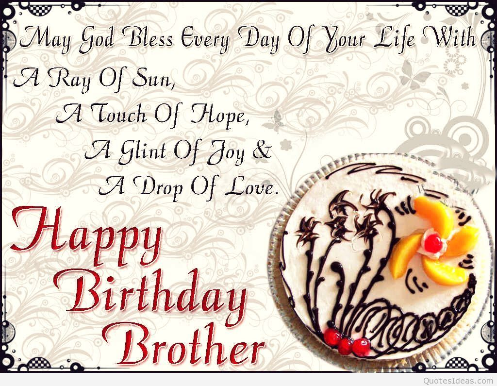 Enjoyable Quotes About Birthday Of Brother 30 Quotes Personalised Birthday Cards Veneteletsinfo