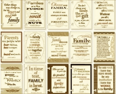Quotes About Family And Foundation 60 Quotes