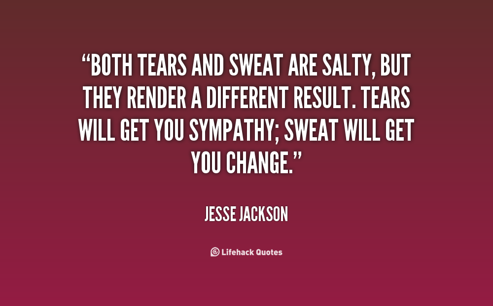 Quotes About Blood Sweat And Tears (72 Quotes