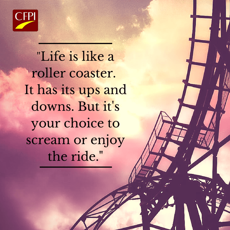 Amazing Deals On Life Is Like A Roller Coaster You Can Either Scream