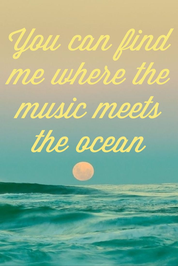 Quotes about Beach from songs (23 quotes)