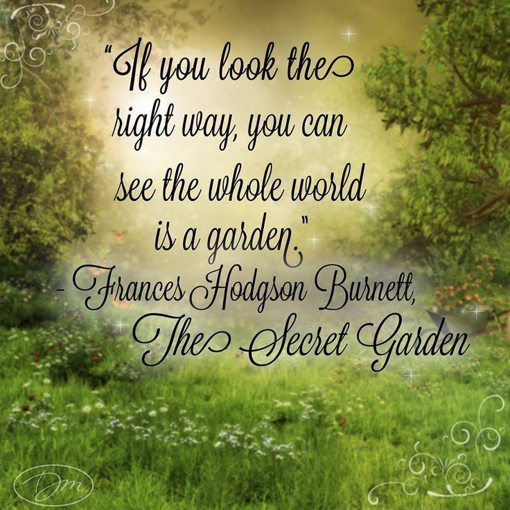 Quotes About Secret Garden 45 Quotes