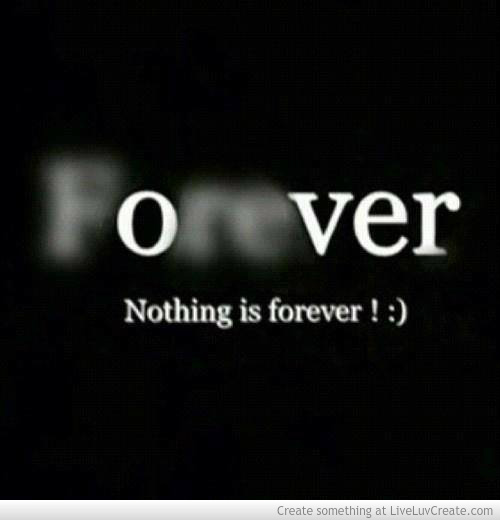 Quotes About Nothing Is Forever 139 Quotes