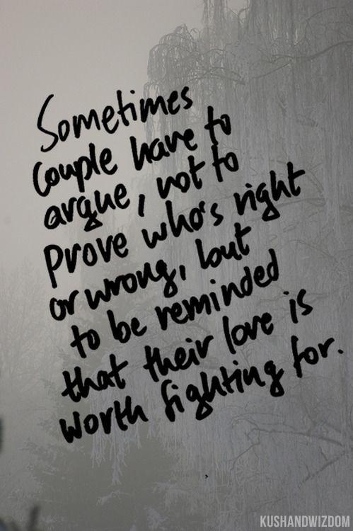 Quotes about Couples that argue (19 quotes)