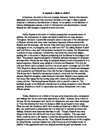 shylock villain essay Summary: shylock, is the most noteworthy figure in shakespeare's comedy, the merchant of venice while no consensus has been reached on whether shylock is a tyrannical villain or a tragic victim, evidence indicates he is a bloodthirsty villain antonio's counterpart, shylock, is the most noteworthy.