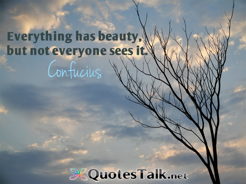 Quotes About Beauty Confucius 25 Quotes