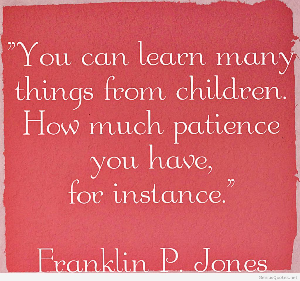patience quotes for kids - HD1024×935