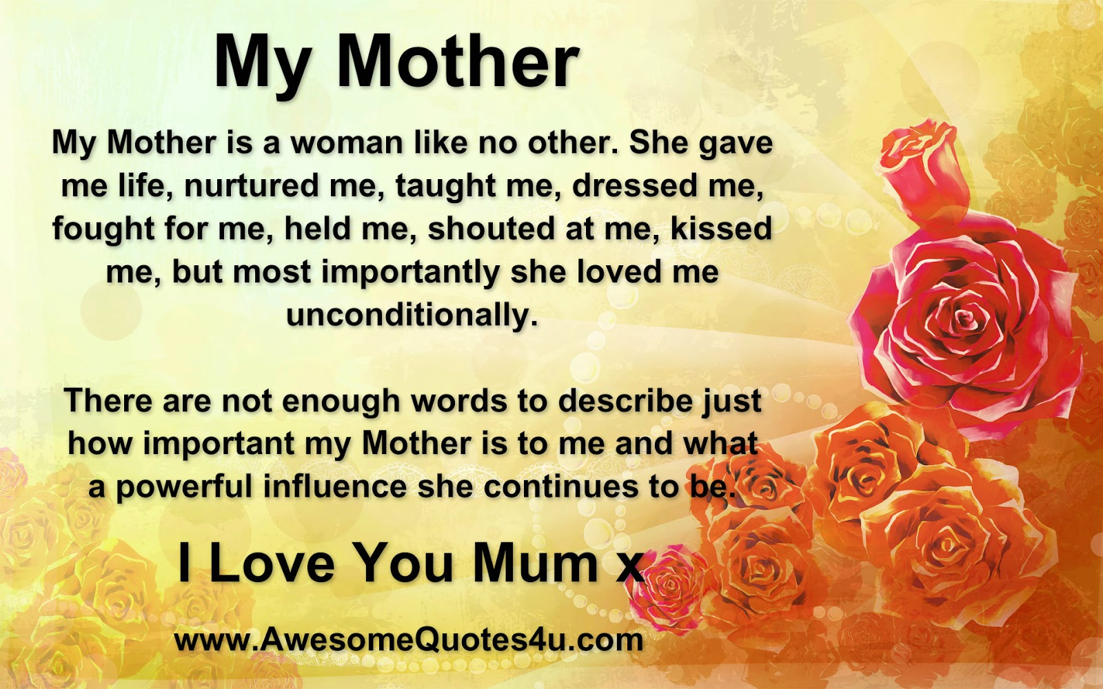 Quotes For Mothers Love Quotes About Mothers Day Love 33 Quotes
