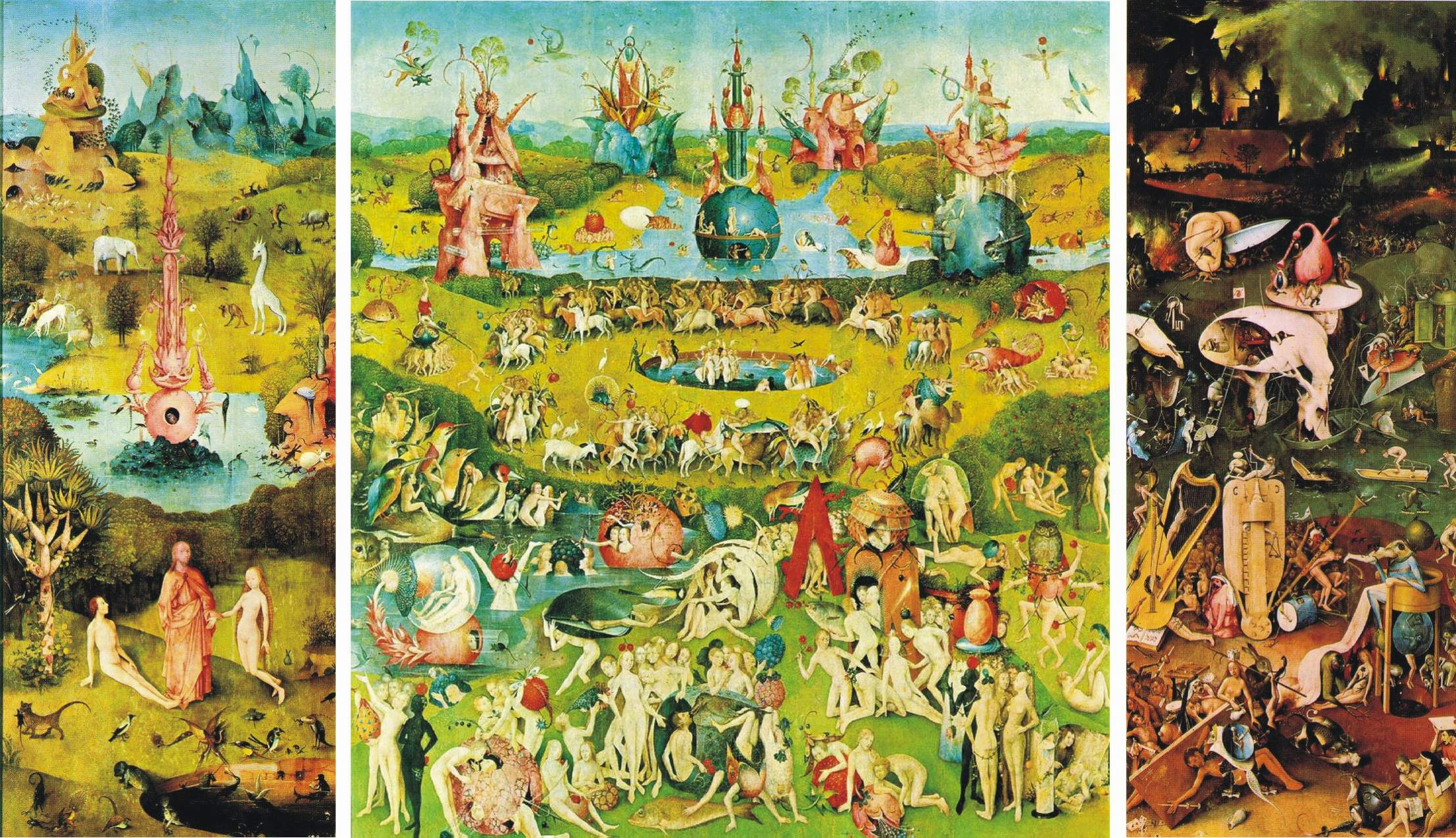 Quotes about Garden of earthly delights (14 quotes)