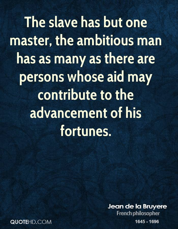 Quotes about Masters And Slaves (55 quotes)
