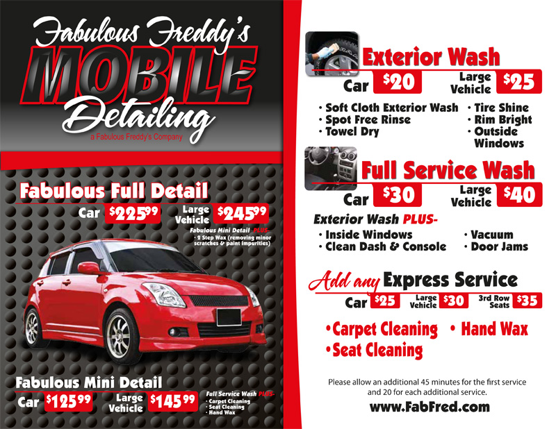Master Car Wash Prices