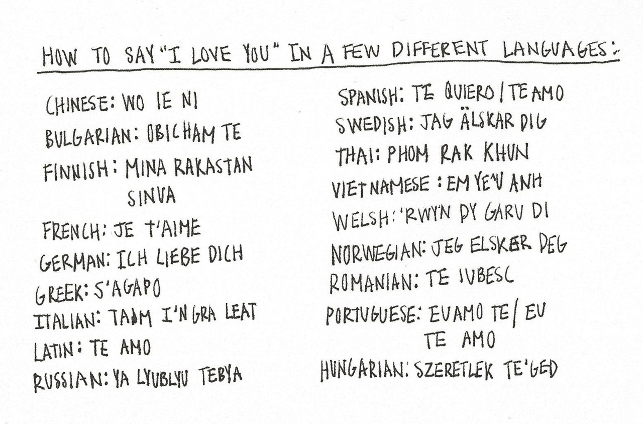 Quotes About Love In Other Languages 14 Quotes