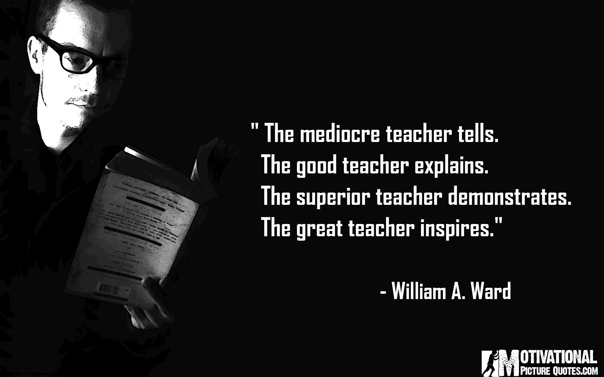 helpful non helpful Quotes about New teachers