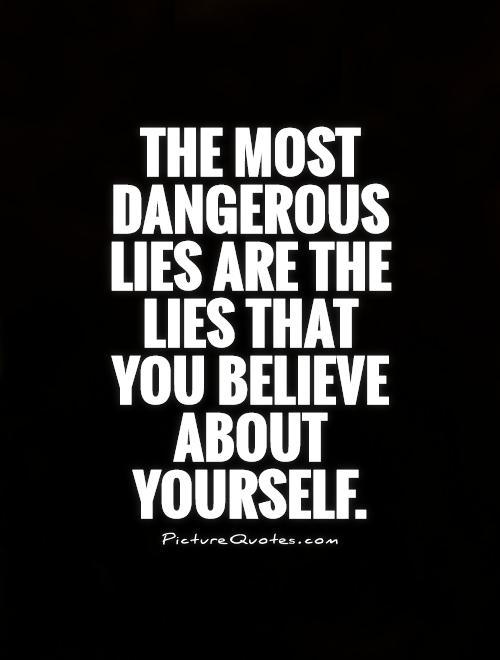 lying to oneself