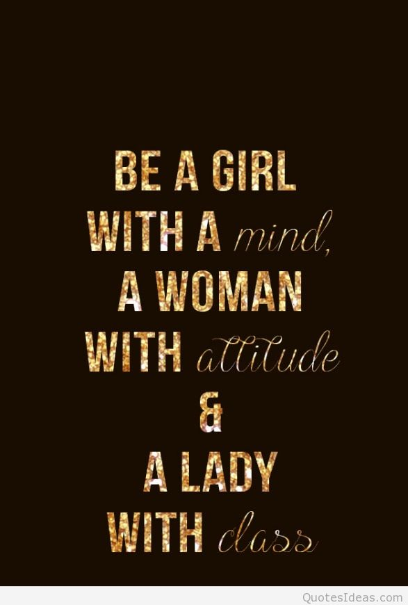 Quotes About Girl With Attitude 23 Quotes