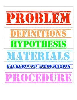 graphic relating to Science Fair Project Printable Headings identified as Offers above Science sensible (48 estimates)