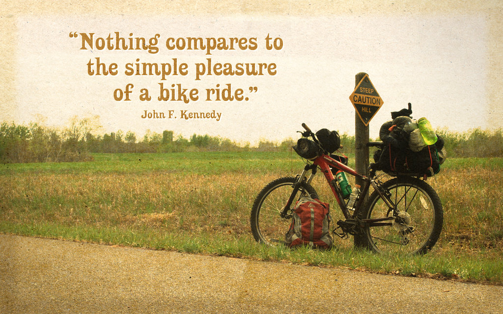 Quotes About Long Bike Rides 22 Quotes