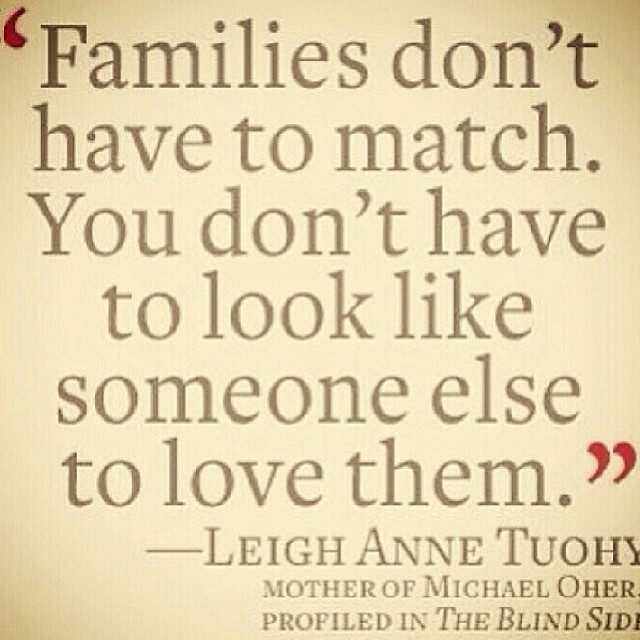 Quotes about Mixed family (48 quotes)
