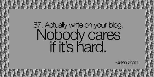 Quotes about Nobody Cares (108 quotes)