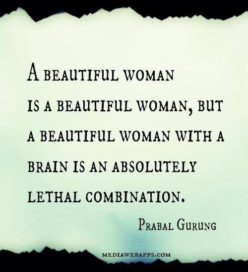 Quotes About Having Beauty And Brains 11 Quotes
