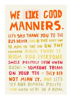 essay on good manners in school