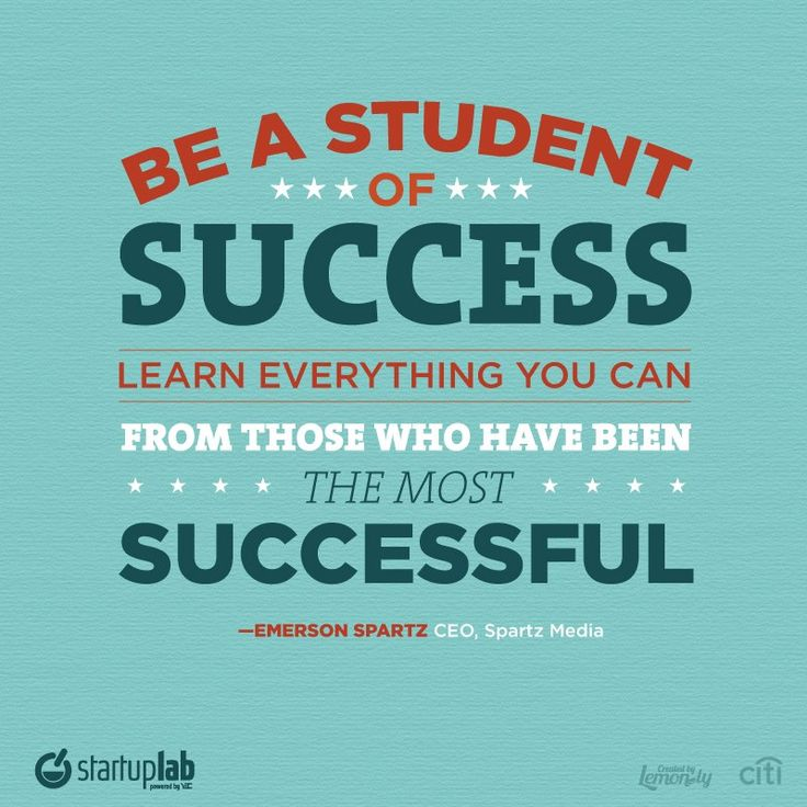 Best Motivational Quotes For Students: Quotes About Success For Students (16 Quotes