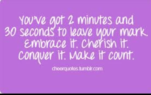 Quotes about Competitive cheerleading (26 quotes)