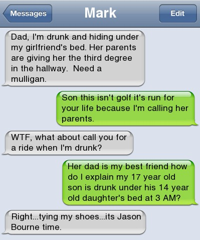 Text messages drunk 21 People