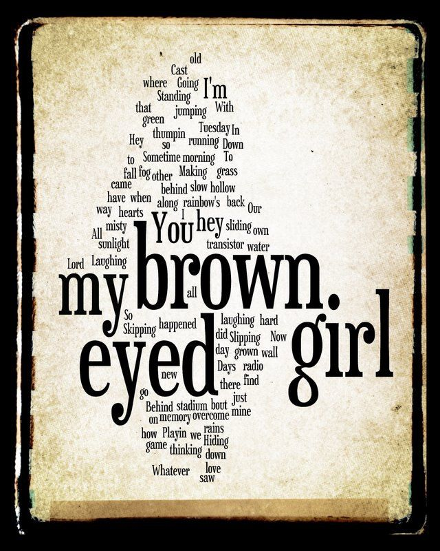 brown skin pretty brown eyes lyrics