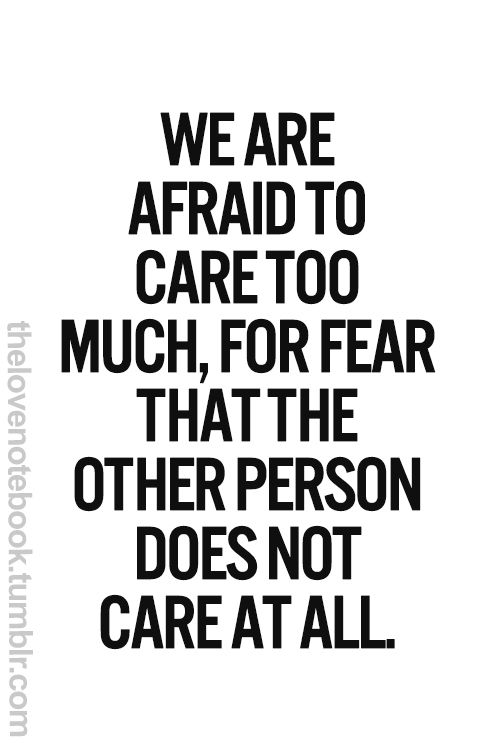 Quotes About Other Person Not Caring 21 Quotes