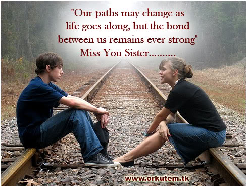 Quotes about Brother and sister bond (17 quotes)