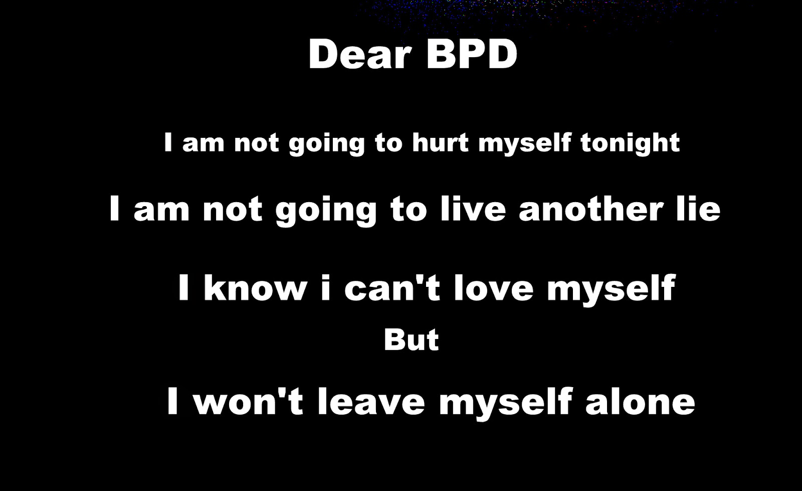 Borderline personality disorder quotes