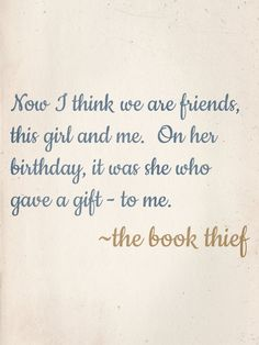 Charmant Quotes About Book Thief